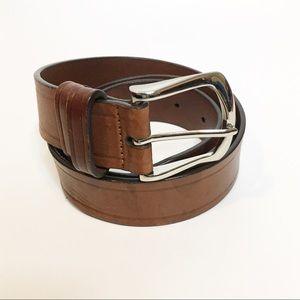 Cole Hana Wellsley Brown Men's Belt - Size 80/32